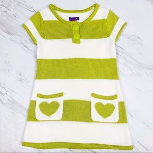 greendog Sweater Dress Tunic Striped